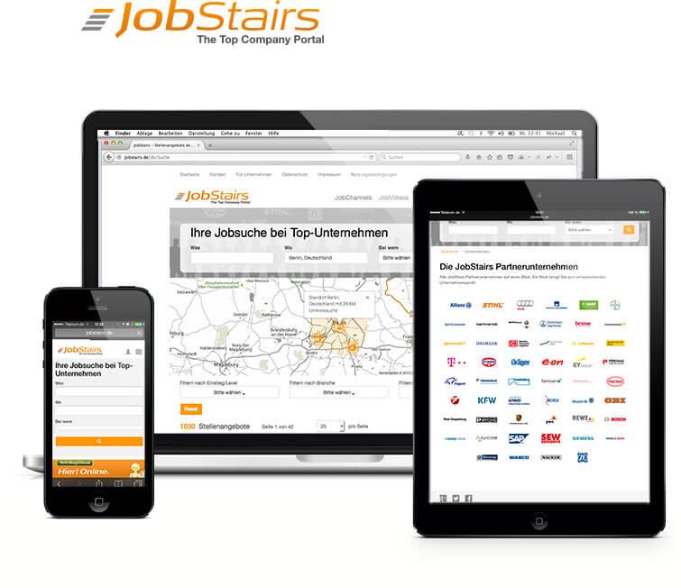 JobStairs Jobbörse