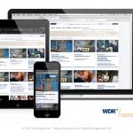 WDR Stellenmarkt für Desktop und mobile Devices