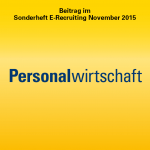 Personalwirtschaft Round Table E-Recruiting