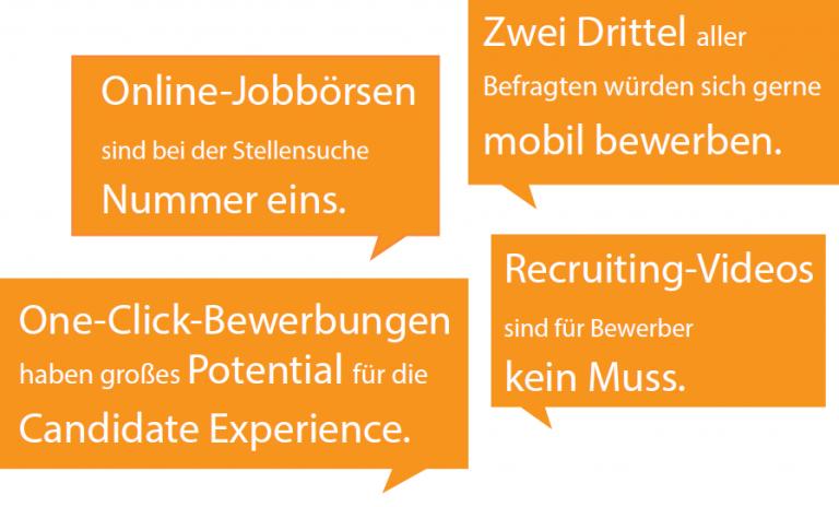 Ergebnisse JobStairs Umfrage Bewerber 4.0