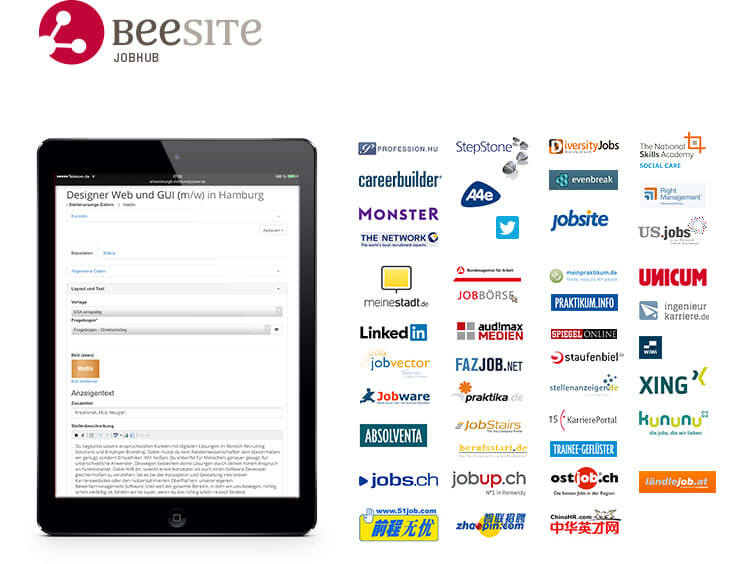 BeeSIte JobHub - Multi-posting