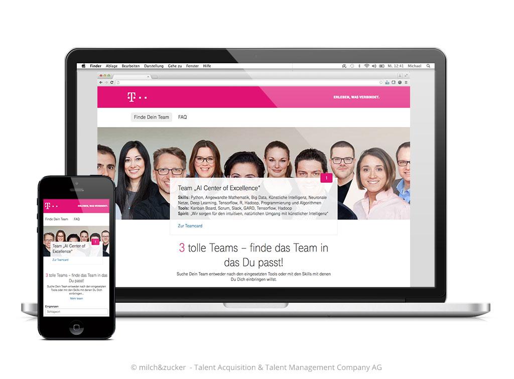Starsteite Telekom Finde Dein Team