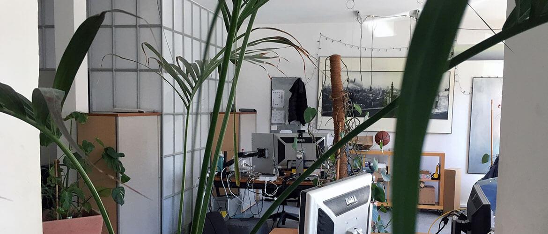 milch & zucker Hamburg Arbeitsraum