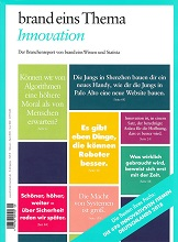 Cover Magazin brand eins Thema Innovation 2018