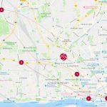 milch & zucker - Standorte Hamburg, Journey-Karte