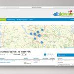 Elbkinder Karriere Stellenmarkt Suchergebnis mit Karte