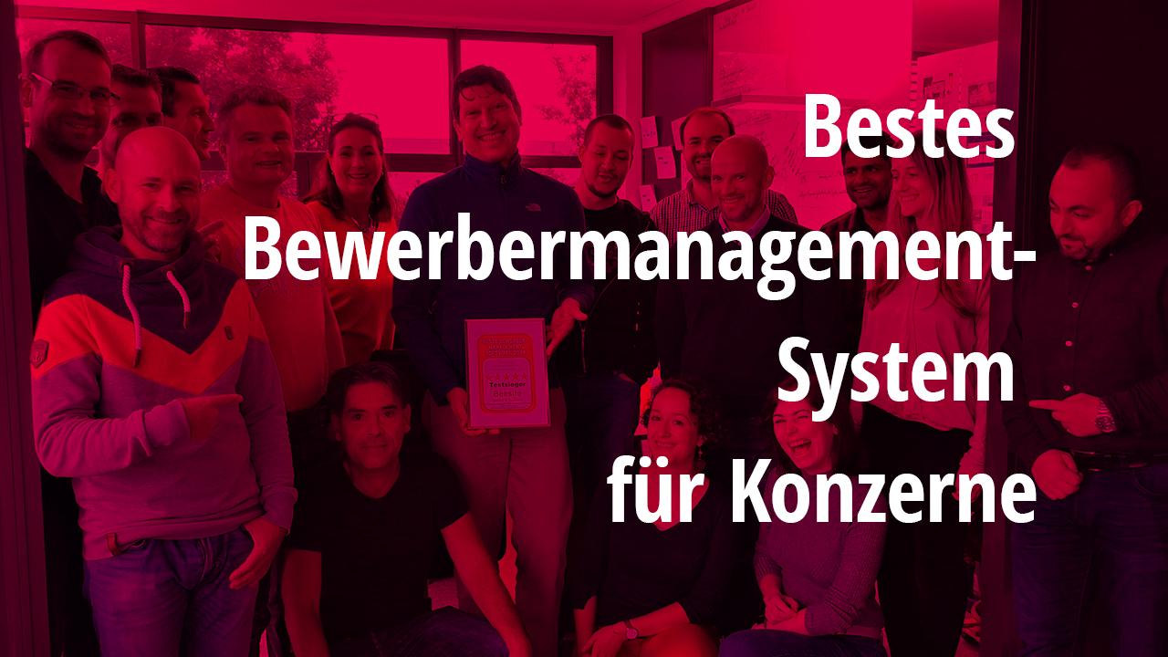 Bestes Bewerbermanagement-System für Konzerne