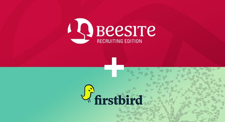 Mitarbeiterempfehlungen von Firstbird in der BeeSite Recruiting Edition