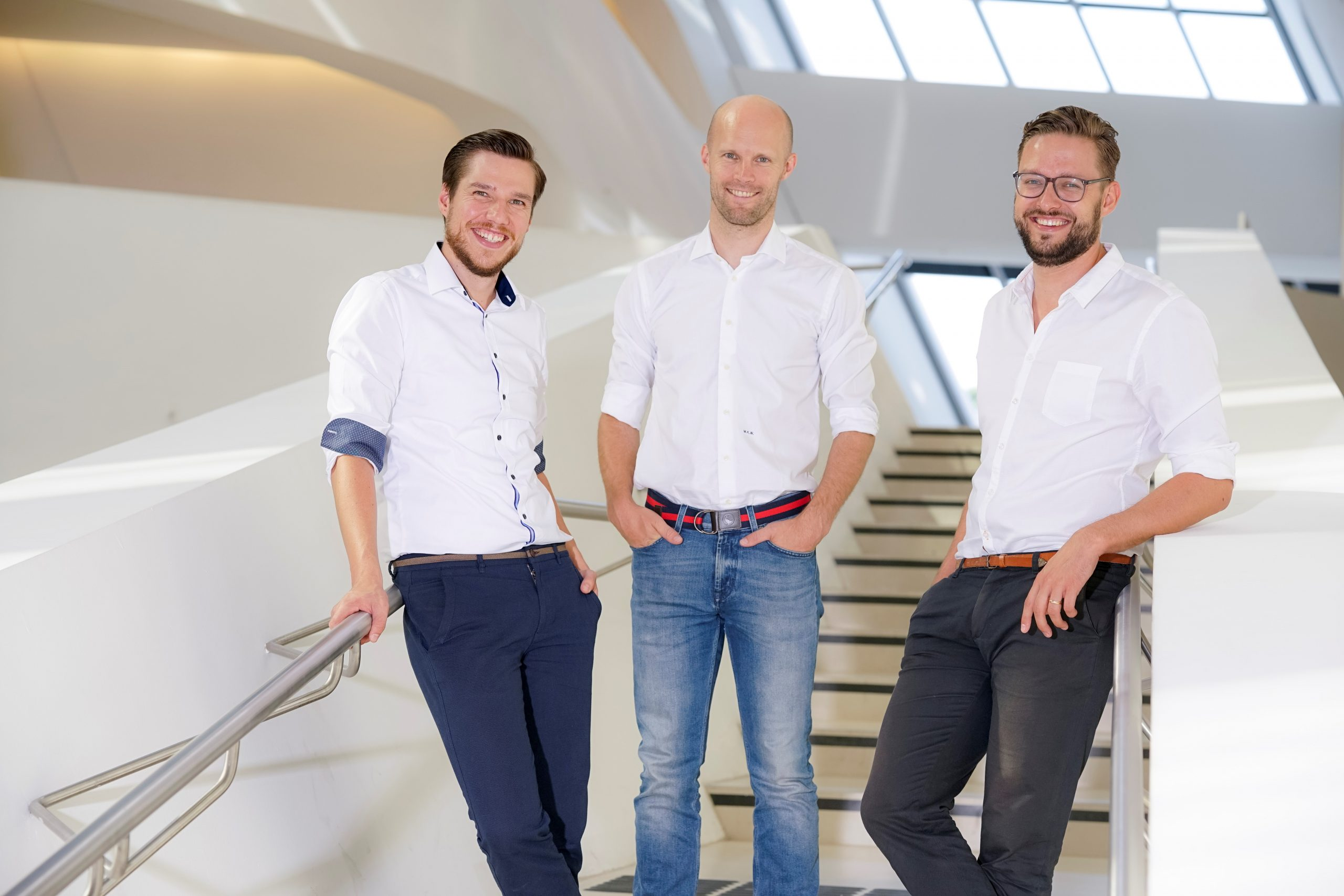 C-Level-Team von Firstbird Software Mitarbeiterempfehlungsprogramme